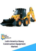 Latin America Heavy Construction Equipment Market by Equipment Earthmoving Material Handling Heavy Construction Vehicles and Others Application Excavation Demolition Heavy Lifting Tunneling and Others and End User Infrastructure Construction Oil Gas Manufacturing and Others Opportunity Analysis and Industry Forecast 2016 2022