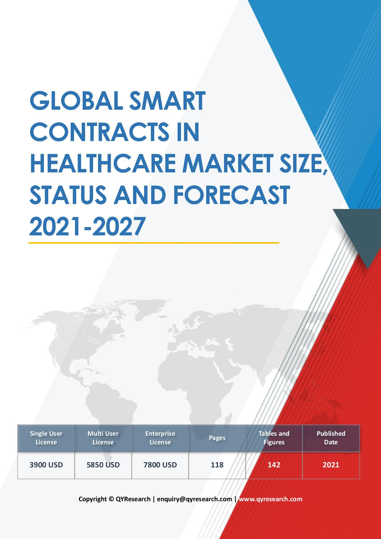Global Smart Contracts in Healthcare Market Size Status and Forecast 2020 2026