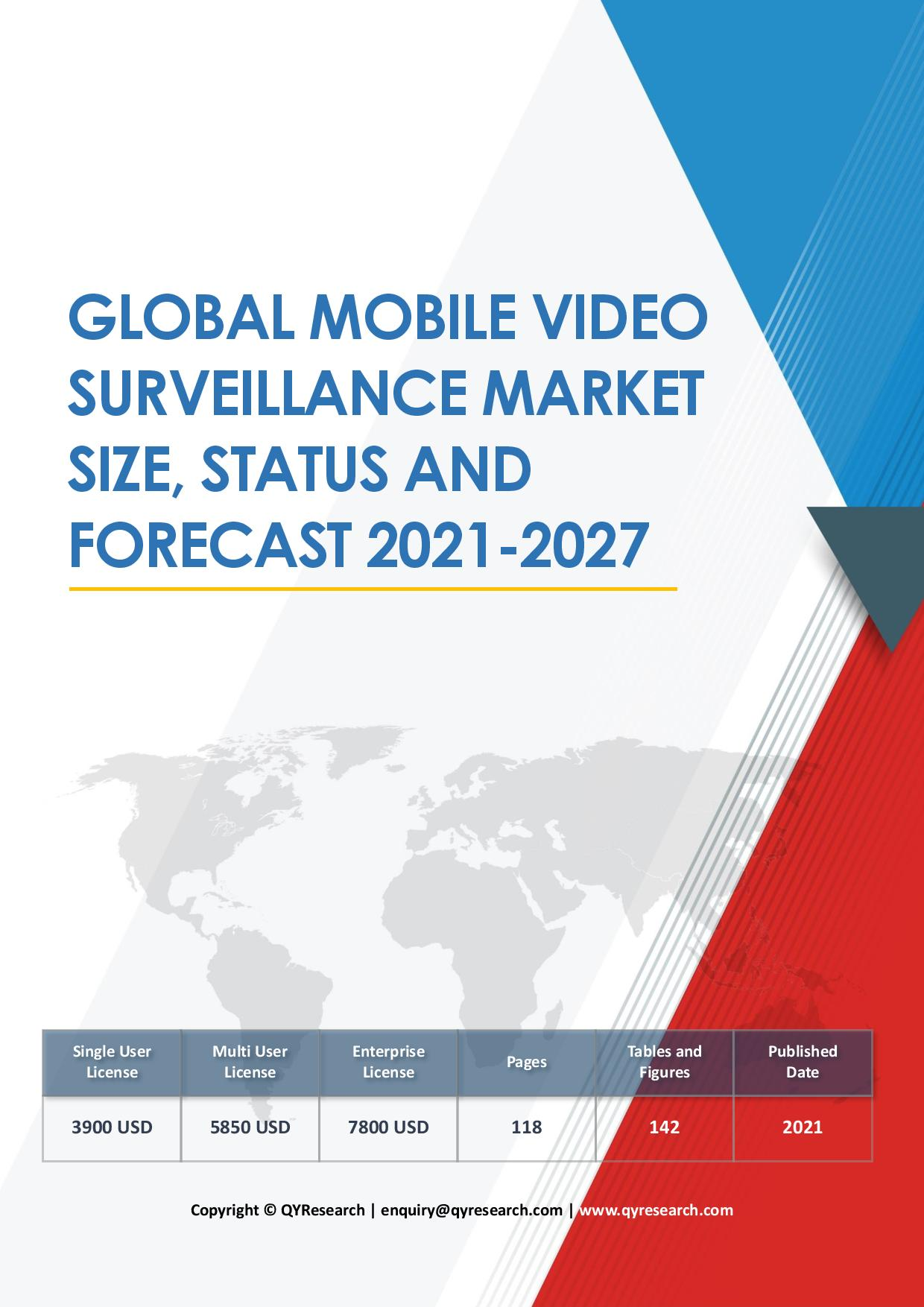 Global Mobile Video Surveillance Market Size Status and Forecast 2020 2026