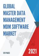 Global Master Data Management MDM Software Market Size Status and Forecast 2021 2027