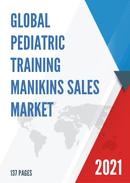 Global Pediatric Training Manikins Sales Market Report 2021