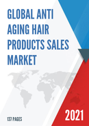 Global Anti Aging Hair Products Sales Market Report 2021