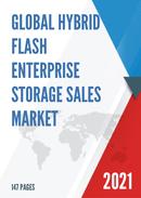 Global Hybrid Flash Enterprise Storage Sales Market Report 2021