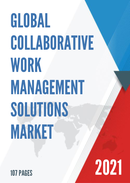 Global Collaborative Work Management Solutions Market Size Status and Forecast 2021 2027