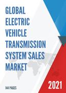 Global Electric Vehicle Transmission System Sales Market Report 2021
