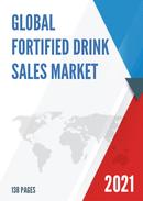 Global Fortified Drink Sales Market Report 2021
