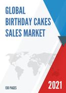 Global Birthday Cakes Sales Market Report 2021