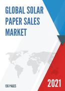 Global Solar Paper Sales Market Report 2021