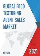 Global Food Texturing Agent Sales Market Report 2021