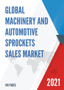 Global Machinery and Automotive Sprockets Sales Market Report 2021