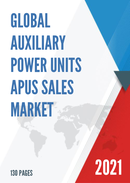 Global Auxiliary Power Units APUs Sales Market Report 2021