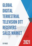 Global Digital Terrestrial Television DTT Receivers Sales Market Report 2021