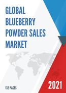Global Blueberry Powder Sales Market Report 2021