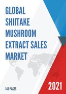 Global Shiitake Mushroom Extract Sales Market Report 2021