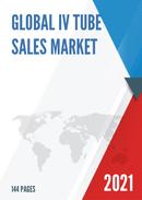Global IV Tube Sales Market Report 2021