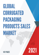 Global Corrugated Packaging Products Sales Market Report 2021