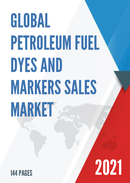 Global Petroleum Fuel Dyes and Markers Sales Market Report 2021