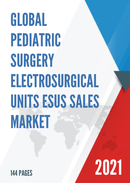 Global Pediatric Surgery Electrosurgical Units ESUs Sales Market Report 2021