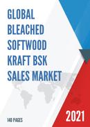 Global Bleached Softwood Kraft BSK Sales Market Report 2021