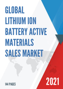 Global Lithium Ion Battery Active Materials Sales Market Report 2021