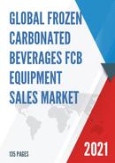 Global Frozen Carbonated Beverages FCB Equipment Sales Market Report 2021
