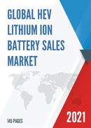Global HEV Lithium ion Battery Sales Market Report 2021