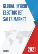 Global Hybrid Electric Jet Sales Market Report 2021