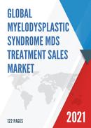 Global Myelodysplastic Syndrome MDS Treatment Sales Market Report 2021