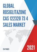 Global Rosiglitazone CAS 122320 73 4 Sales Market Report 2021