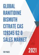 Global Ranitidine Bismuth Citrate CAS 128345 62 0 Sales Market Report 2021