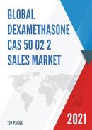 Global Dexamethasone CAS 50 02 2 Sales Market Report 2021