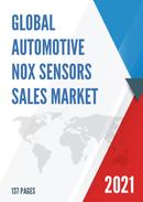 Global Automotive NOx Sensors Sales Market Report 2021