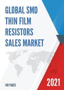 Global SMD Thin Film Resistors Sales Market Report 2021