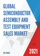 Global Semiconductor Assembly and Test Equipment Sales Market Report 2021