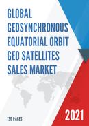 Global Geosynchronous Equatorial Orbit GEO Satellites Sales Market Report 2021