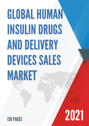 Global Human Insulin Drugs And Delivery Devices Sales Market Report 2021