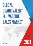 Global Quadrivalent Flu Vaccine Sales Market Report 2021