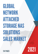 Global Network Attached Storage NAS Solutions Sales Market Report 2021