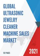 Global Ultrasonic Jewelry Cleaner Machine Sales Market Report 2021
