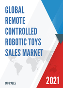 Global Remote Controlled Robotic Toys Sales Market Report 2021