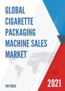 Global Cigarette Packaging Machine Sales Market Report 2021