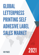 Global Letterpress Printing Self Adhesive Label Sales Market Report 2021
