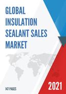 Global Insulation Sealant Sales Market Report 2021