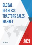 Global Gearless Tractors Sales Market Report 2021