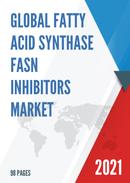 Global Fatty Acid Synthase FASN Inhibitors Market Size Status and Forecast 2021 2027