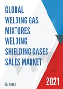 Global Welding Gas Mixtures Welding Shielding Gases Sales Market Report 2021