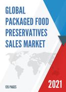 Global Packaged Food Preservatives Sales Market Report 2021