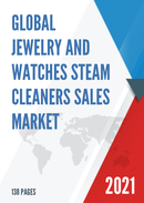 Global Jewelry and Watches Steam Cleaners Sales Market Report 2021