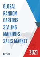 Global Random Cartons Sealing Machines Sales Market Report 2021