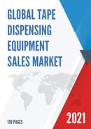 Global Tape Dispensing Equipment Sales Market Report 2021
